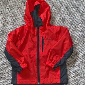 Youth Columbia rain jacket